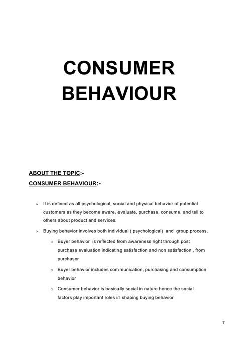 dissertation on consumer buying behaviour dissertation on consumer buying behaviour thesis