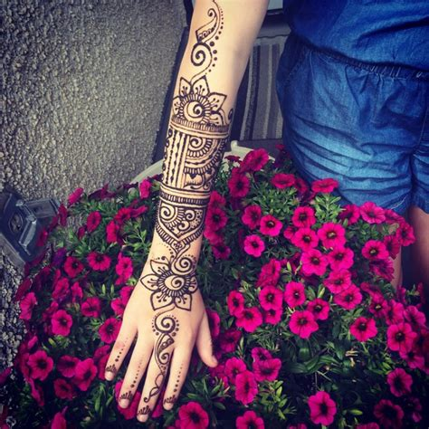 henna tattoo arm sleeve 59 henna designs ideas design trends premium