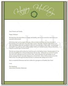 christmas solicitation letter sample for street party