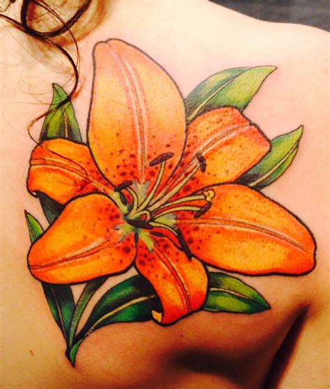 small tiger lily tattoo image from http www drawingforkids org images 14497