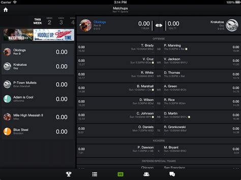 email yahoo fantasy football support yahoo s fantasy football ios android apps now support