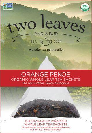 Two Leaves Tea Where To Buy In Canada - two leaves a bud orange pekoe whole leaf tea sachets