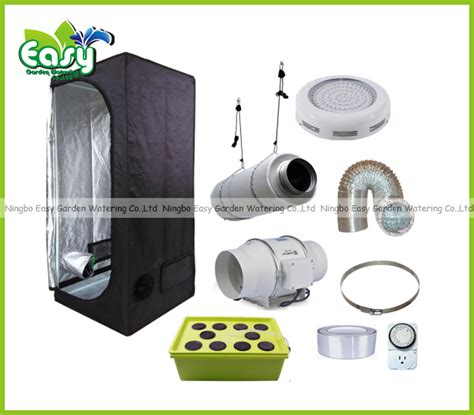 grow room supplies and equipment hydropoinics complete indoor grow tent kits 60x60x140cm with dwc led grow light and