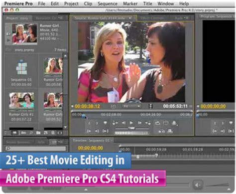 tutorial adobe premiere pro cs4 uat digital video 25 best adobe premiere pro cs4 tutorials