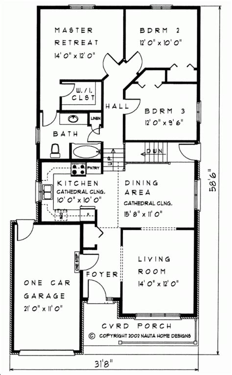 Back Split House Plans by 3 Bedroom Backsplit House Plan Bs105 1350 Sq