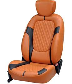 Seat Cover For Car In Delhi Elaxa Orange Car Seat Covers For Maruti Zen Buy Elaxa