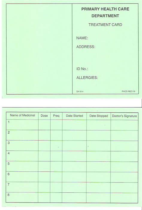 how to make health card mosta health centre