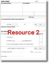 electrician job sheet
