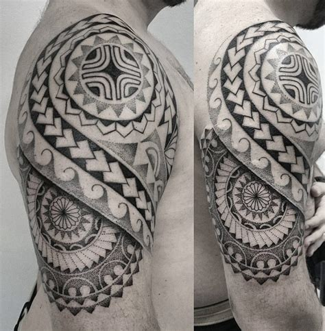 maori tribal dotwork tattoo best tattoo design ideas