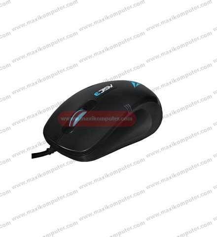 Alcatroz Asic 3 High Resolution Optical Mouse Black Blue mouse alcatroz asic 3