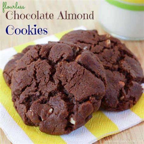 choco almond cookies flourless chocolate almond cookies cupcakes kale chips