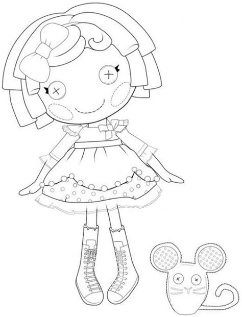 the best lalaloopsy dolls coloring pages coloring