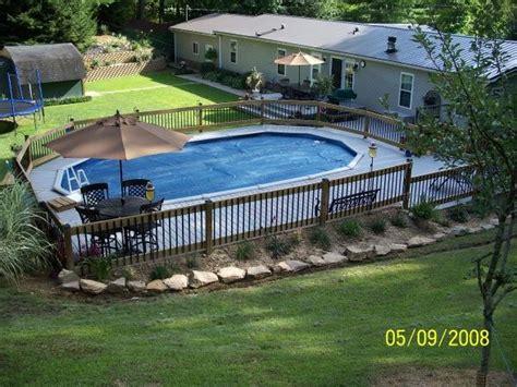 awesome oval deck job httpwww
