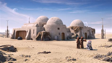 Home Design Architecture Magazine by Return To Tatooine By Oleksandr Sci Fi 3dtotal Com
