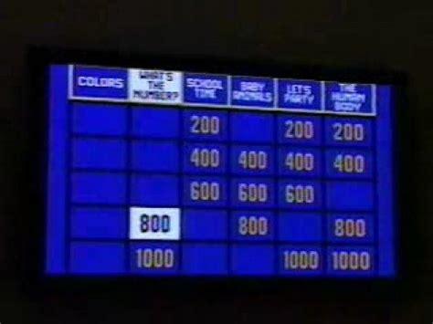 My Jeopardy Powerpoint V1 Doovi Classroom Jeopardy Powerpoint