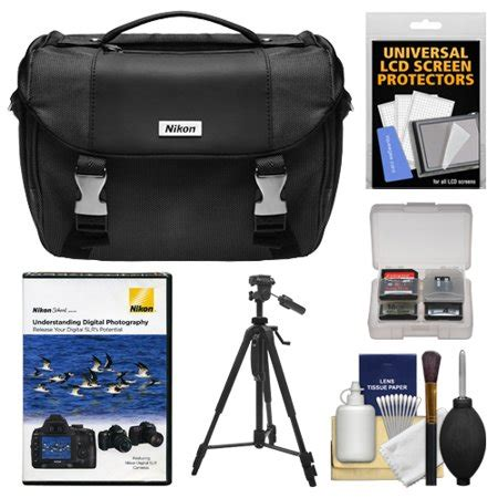 nikon deluxe digital slr gadget bag with tripod nikon school dvd