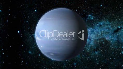 planet neptune royaltyfree video and stock footage