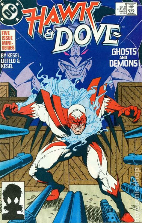 hawk and dove comic books hawk and dove 1988 2nd series comic books