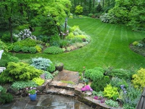 1 acre backyard design this gal s one acre backyard is beautiful gardens and