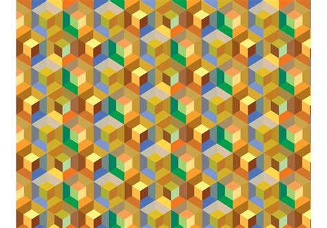 pattern cube vector cube pattern background vector download free vector art