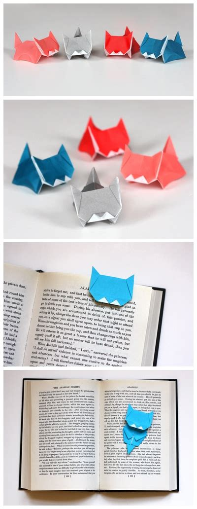 origami cat bookmark 15 easy ideas to diy bookmarks pretty designs