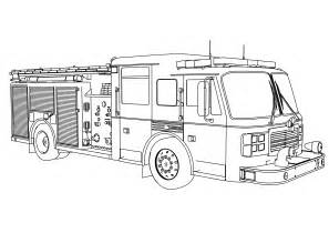 firetruck coloring page truck coloring pages bestofcoloring