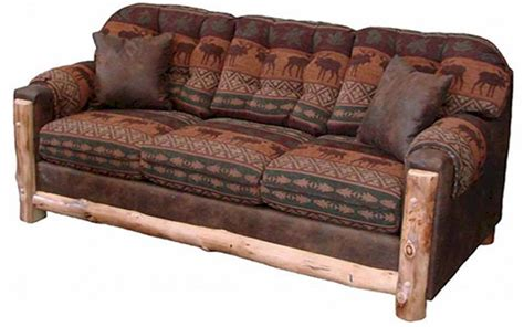 log couches mountain comfort sleeper sofa the log furniture store