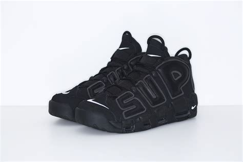 Nike Air Up Tempo X Supreme Blackout supreme x nike air uptempo release date