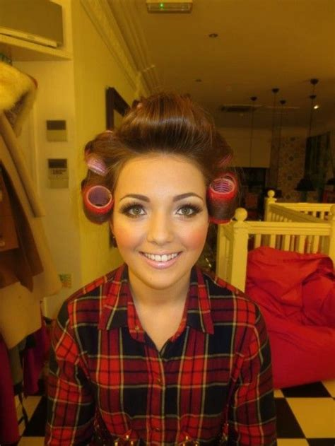 My Boyfriends Hair In Curlers | i wish that my boyfriend looked this happy sitting in the