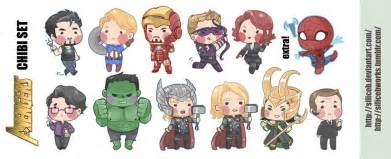 How To Draw Bucky Barnes Avengers Chibi Set By Siliceb On Deviantart