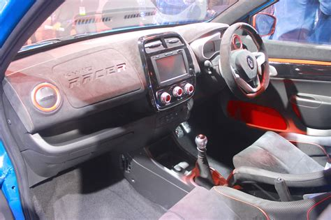 renault climber interior renault kwid racer and climber to be sold as special