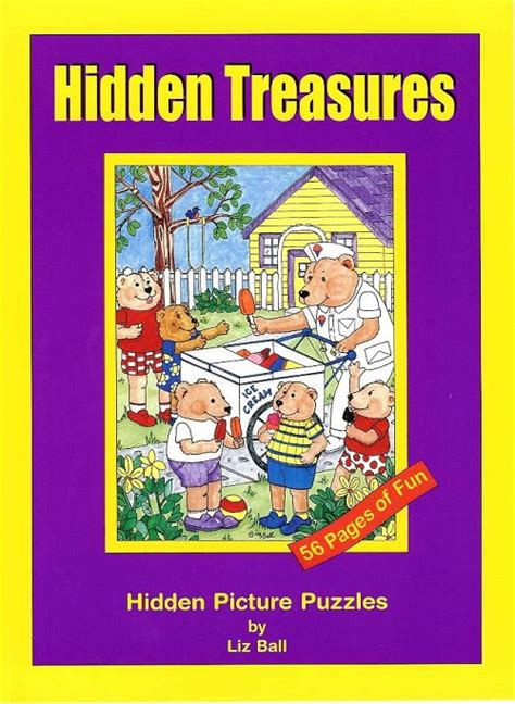 picture puzzle books treasures a book of picture puzzles usa made