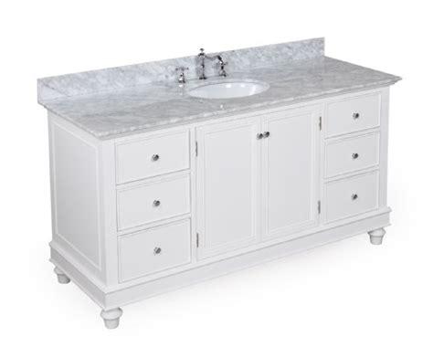 60 bathroom countertop bella 60 bathroom carrera top vanity includes cabinet