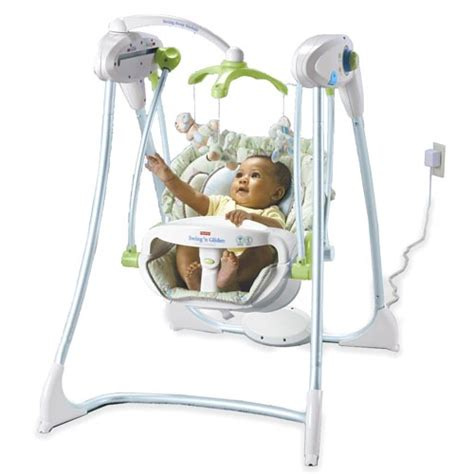 fisher price swing and glider fisher price swing n glider swing n glider plug in baby
