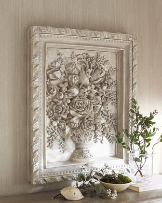traditional wall decor bouquet wall traditional artwork by horchow