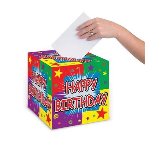Birthday Card Box Happy Birthday Card Box 9 Inch Partycheap