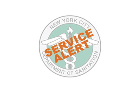 alert service dsny the city of new york department of sanitation