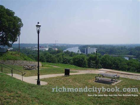 park richmond va river view from libby hill park in richmond virginia