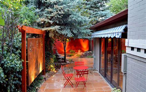 Trellis Art Custom Artwork Outdoor Room Featured In Sunset Magazine