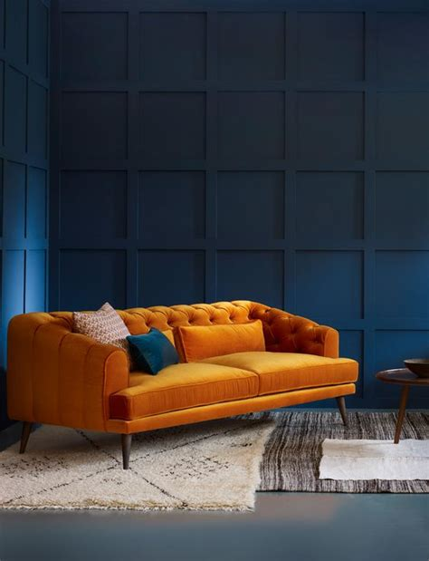 Orange Sofa Decor by Orange Sofa Orange Sofa Design Would Be A