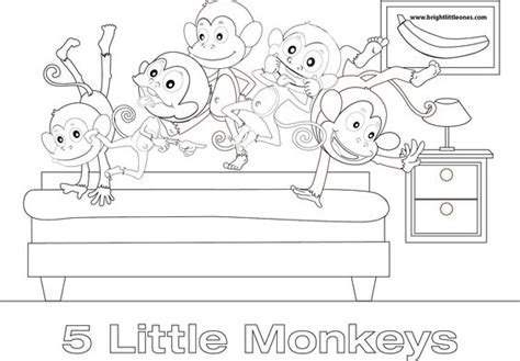 three little monkeys coloring page pinterest the world s catalog of ideas