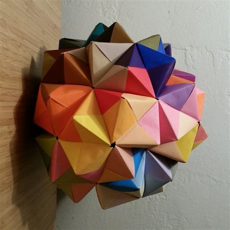 Modular Origami Units - sonobe 90 unit modular origami emily longbrake