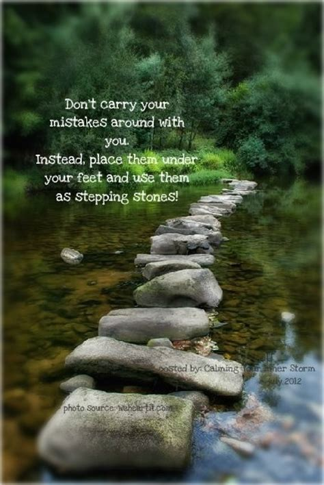 Garden Rocks With Sayings Garden Stepping Quotes Quotesgram