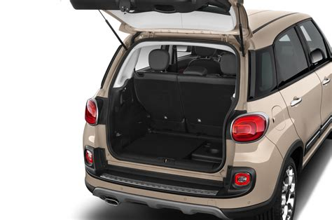 fiat 500l trunk 2014 fiat 500l reviews and rating motor trend