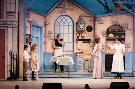 kitchen mary poppins mary poppins review mary poppins drayton entertainment cambridge