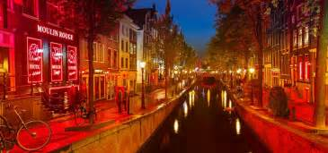 Amsterdam Red Light District Map Nightlife In Amsterdam