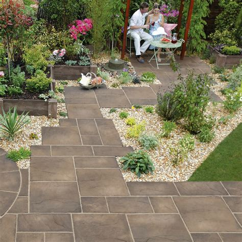Wickes Patio Heritage Riven Garden Paving Marshalls Co Uk