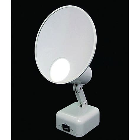bed bath and beyond lighted makeup mirror floxite 15x supervision home and travel makeup mirror