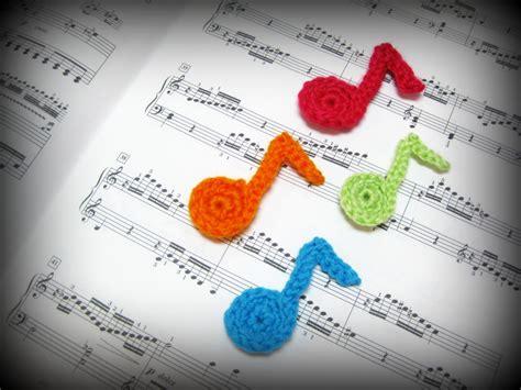 knitting pattern notes crochet musical note tutorial blog of joy