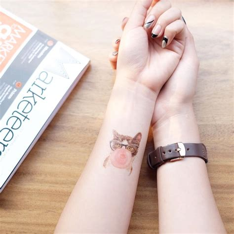 gum tattoo 20 cool temporary tattoos you to get chipless fashion